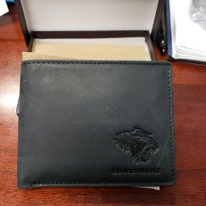 NWT Leather RFID Blocking Bi-fold Wallet (Mtt Blk)